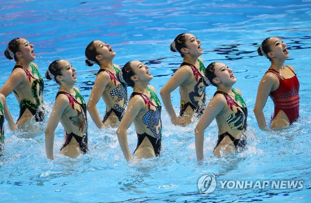 光州世游赛:韩国队晋级艺游集体自由组合决赛