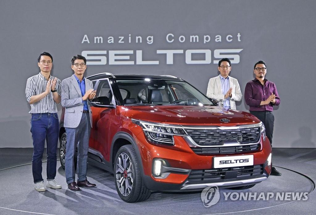 今年前4月韩国小型SUV销量排名第一