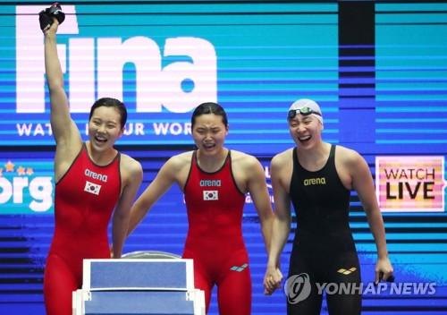 刷新韩国纪录