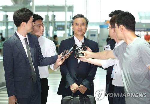 韩高官赴瑞士出席世贸会议