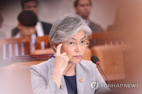 韩外长出席外交统一委全会