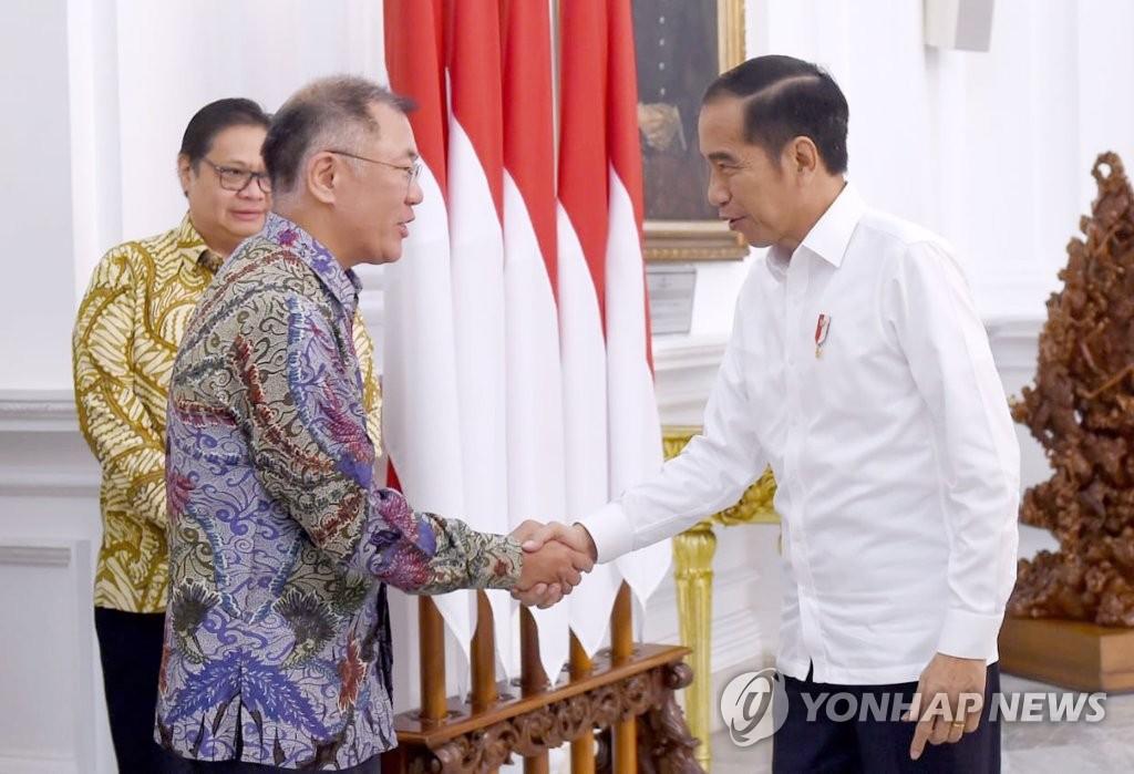 现代汽车与印尼政府签署投资建厂协议