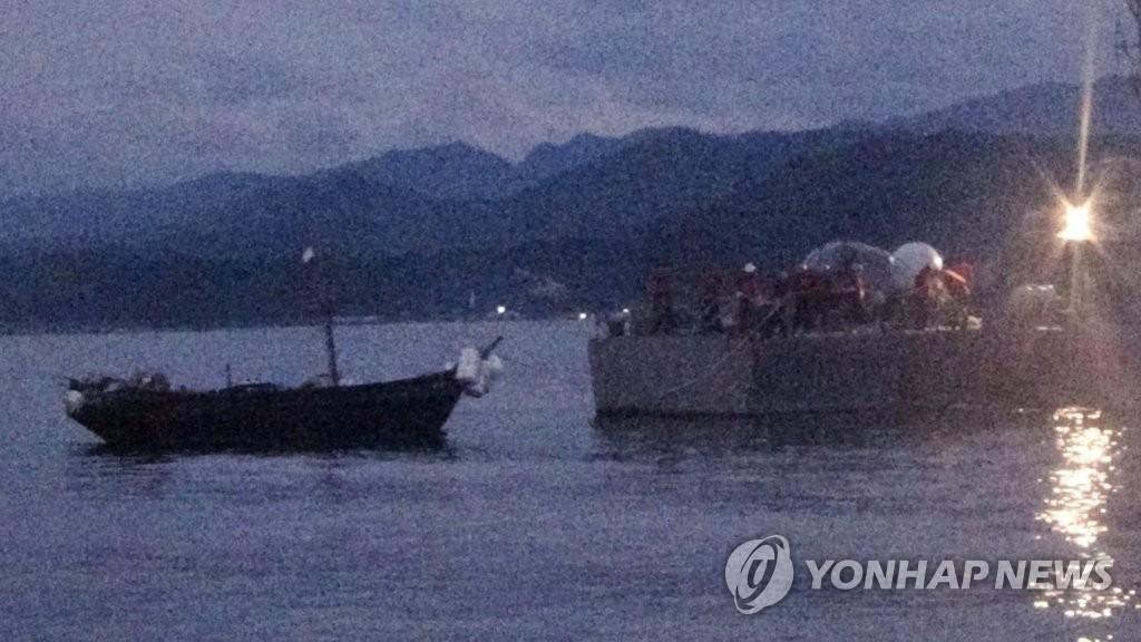 详讯:韩政府今将送还3名越界朝鲜船员