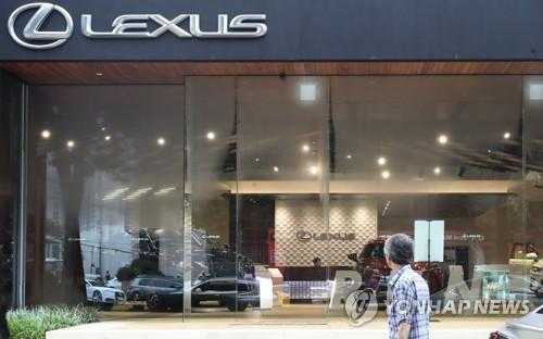 韩国1月日系车销量锐减七成 英菲尼迪只卖1辆