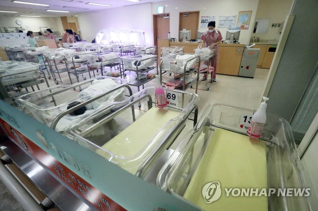 统计:韩8月出生率连续41个月创同月新低