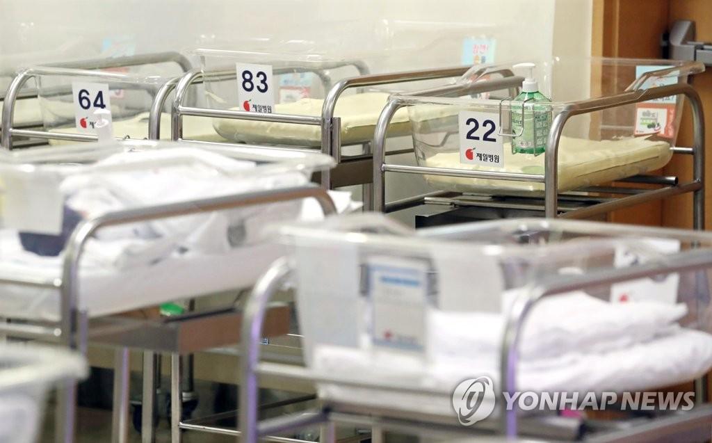 资料图片:新生儿监护室 韩联社