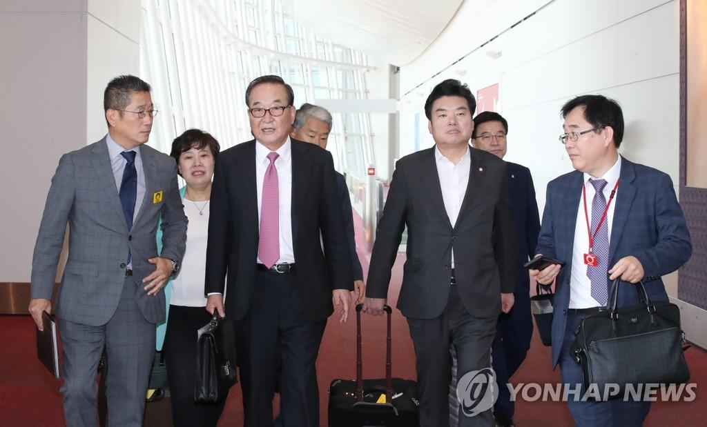 韩国议员团赴日会自民党高层吃闭门羹