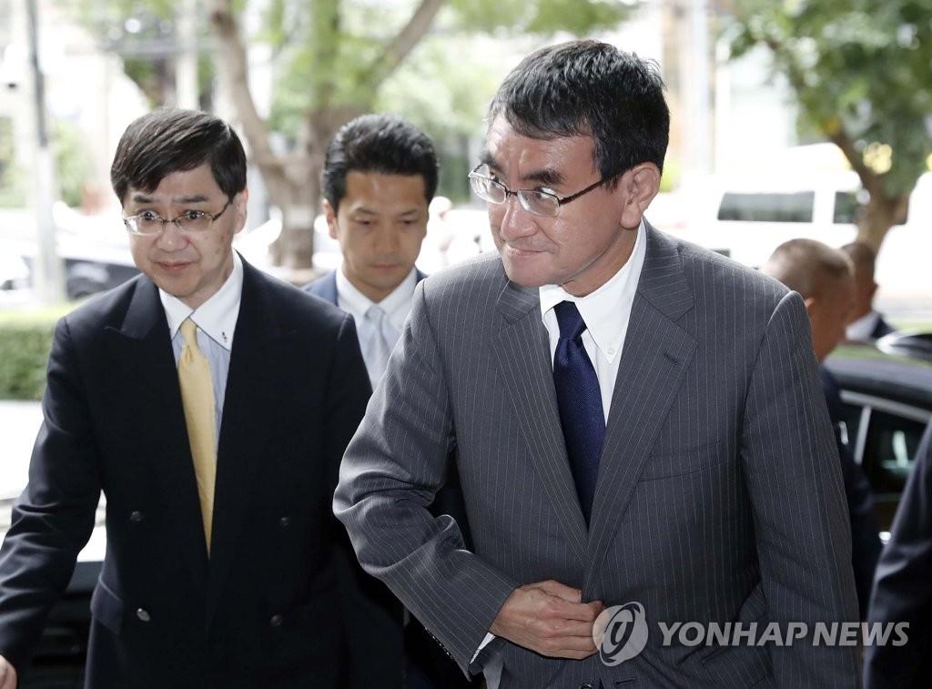 韩外交部对日外相涉文在寅发言表遗憾