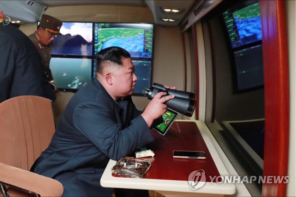 详讯:朝称昨射战术导弹对韩美联演示威