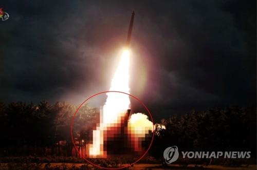 简讯:韩联参研判朝鲜飞行器飞行220多公里