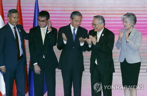 韩中日外长会在即 韩日矛盾能否迎转机引关注