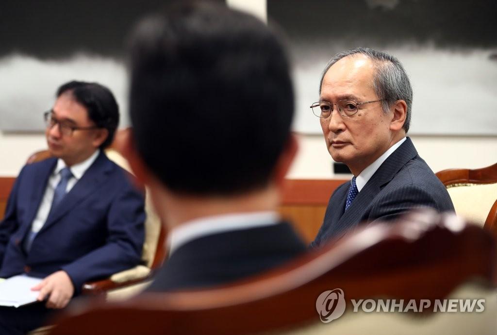 韩外交部召见日大使抗议日本正式限贸