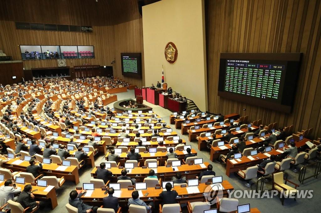韩国会预算结算特委会通过补充预算案 增编2亿应对日本限贸