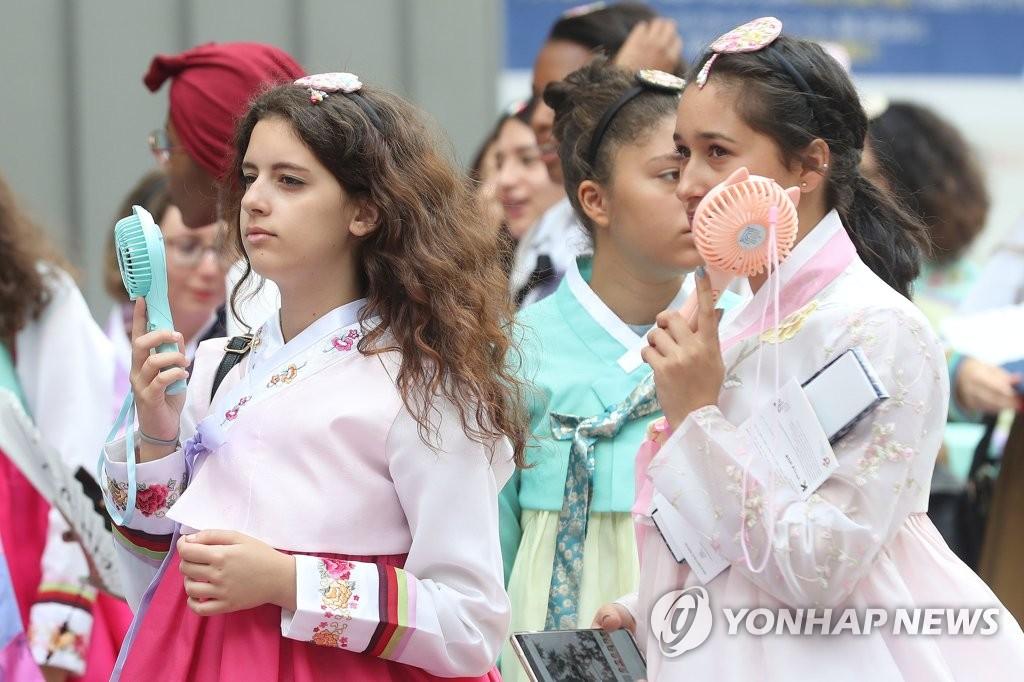 2019韩服博览会明在首尔开幕