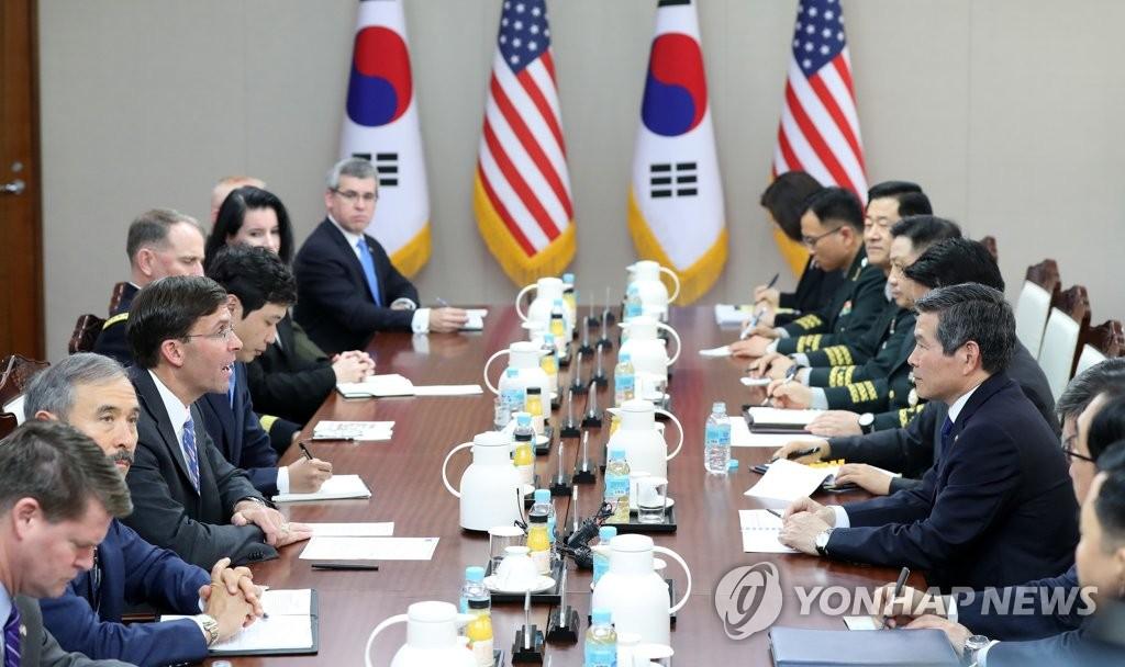 美防长吁韩助力保障霍尔木兹海峡航行自由