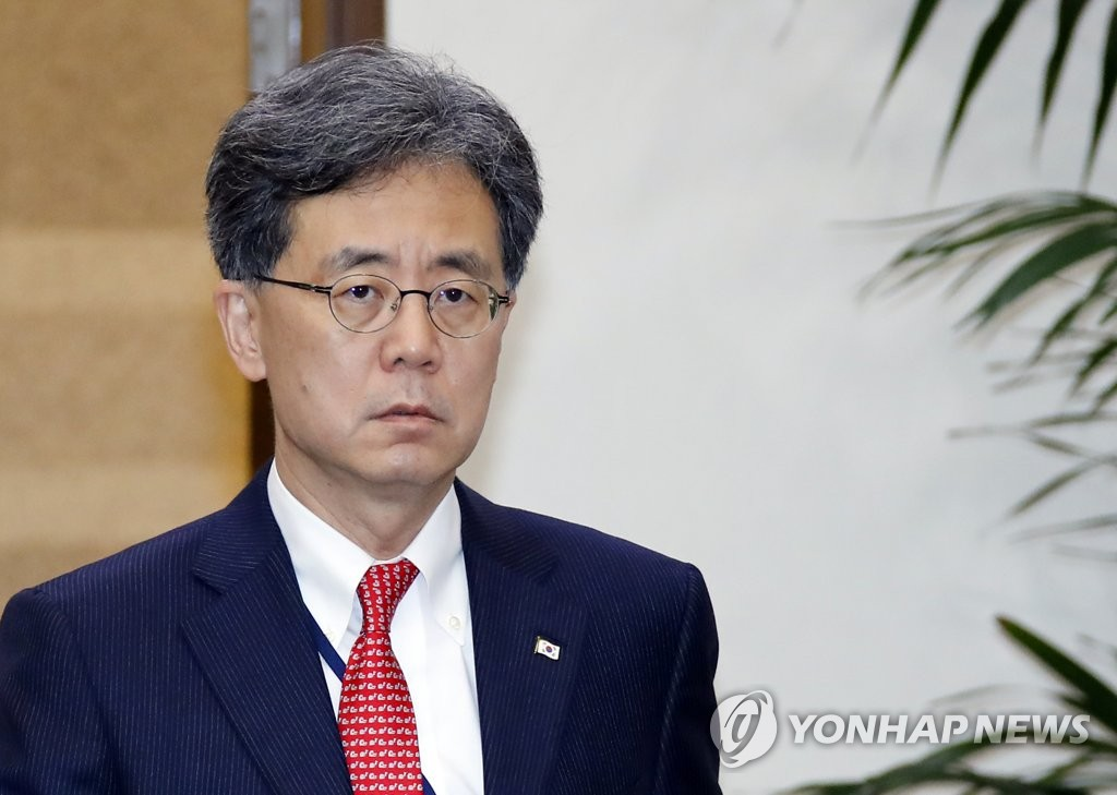资料图片:金铉宗 韩联社