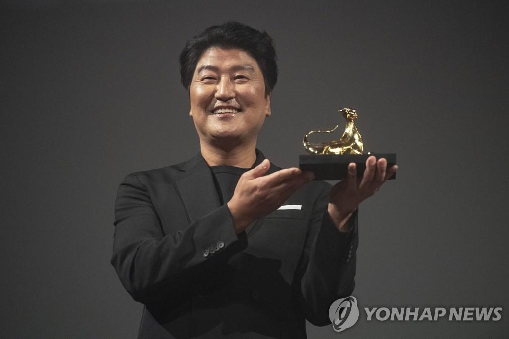 宋康昊在洛迦诺影展获奖