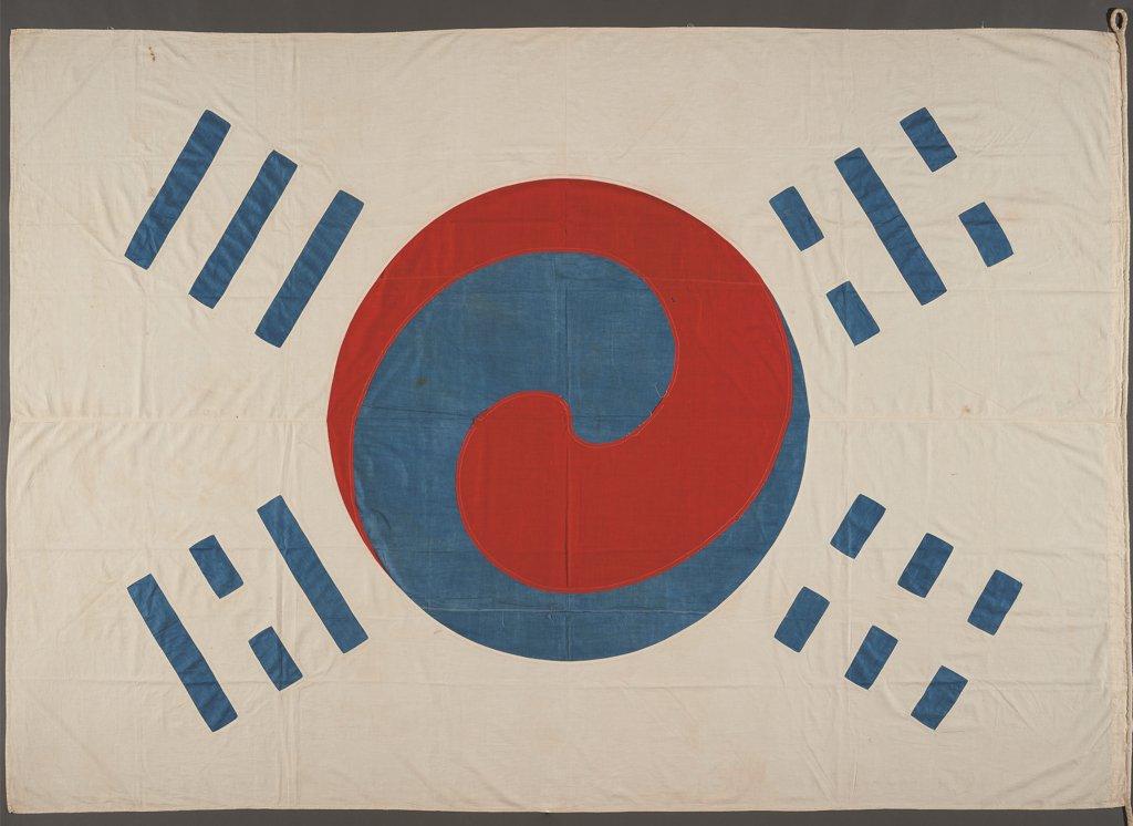 韩国现存最古老太极旗