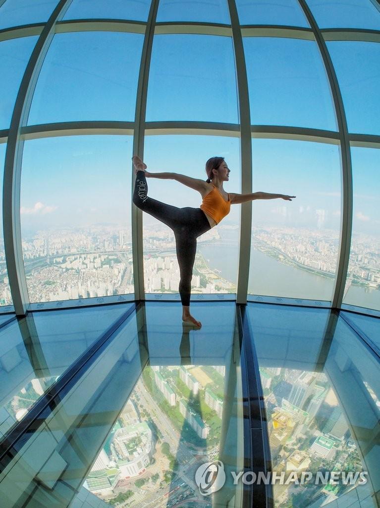 高空瑜伽课堂