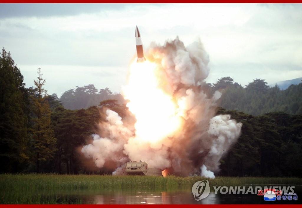 朝鲜武器发射现场