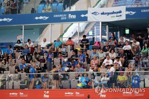 光州世界游泳大师赛即将落幕