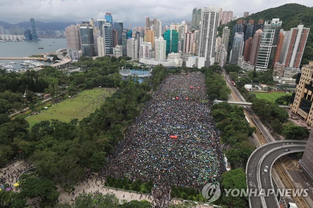 韩国外交部就香港示威表态