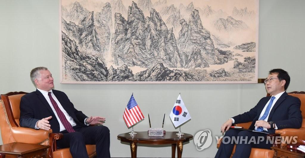 韩美对朝事务代表会晤