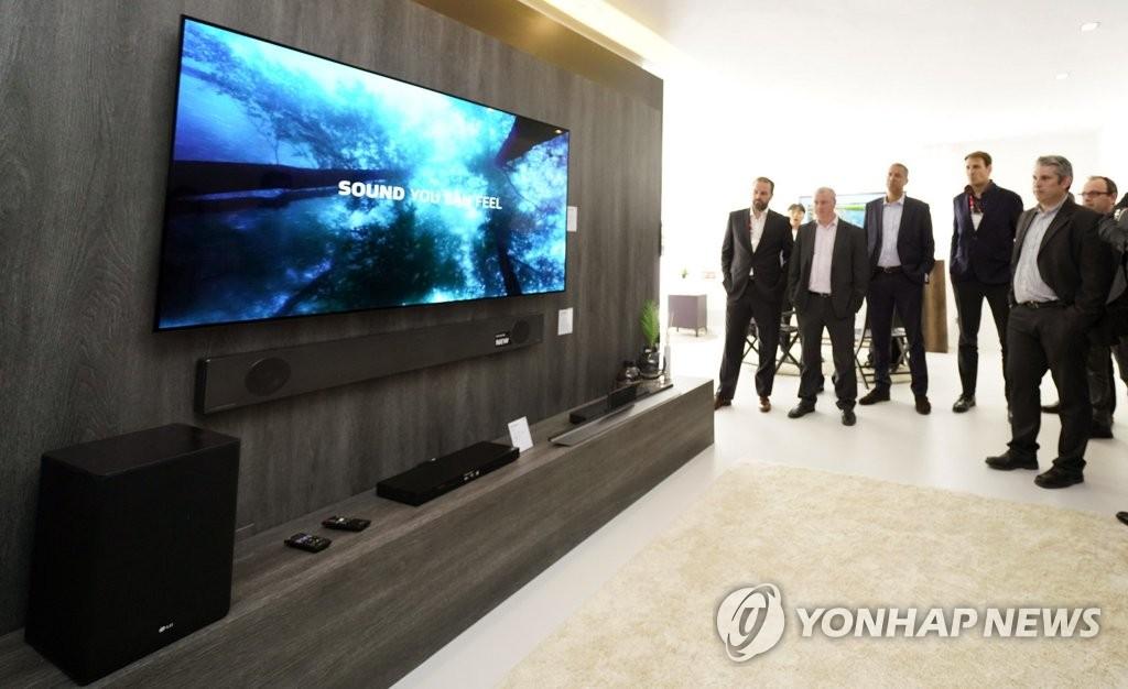 LG电子OLED电视受欧洲青睐
