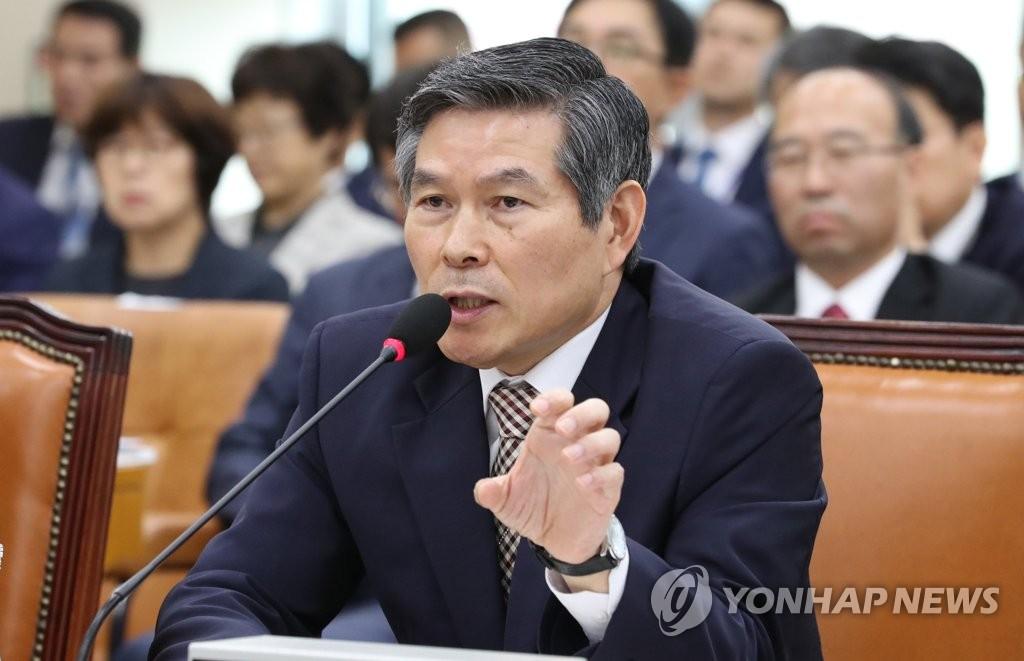 韩防长回应朝鲜谩骂韩美联演