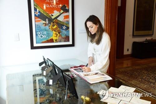 安吉丽娜·朱莉访韩