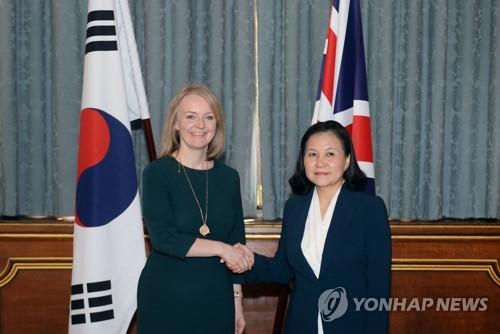 韩国争取韩英FTA在英国脱欧前获国会批准