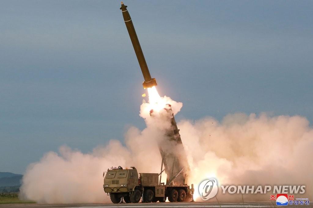 """朝鲜""""新武器""""发射现场"""
