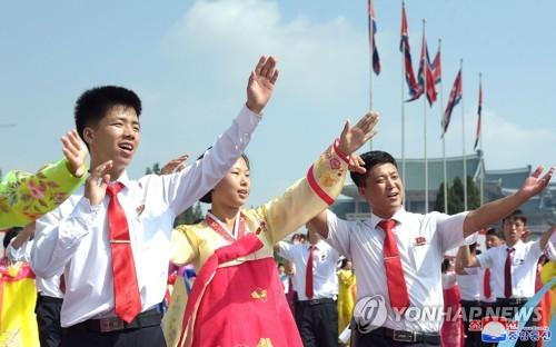 朝鲜庆祝先军节