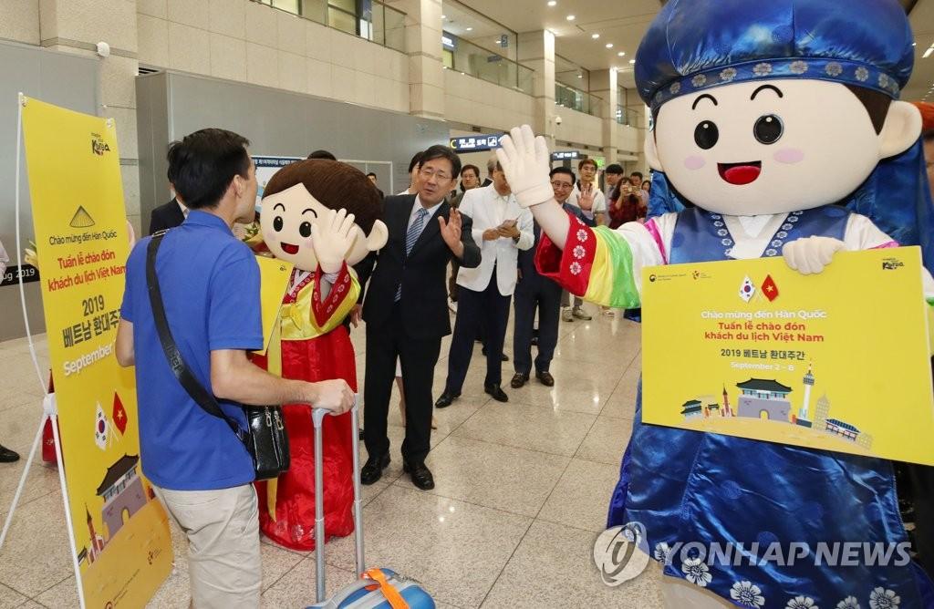 韩9月接待外国游客同比增14.2%