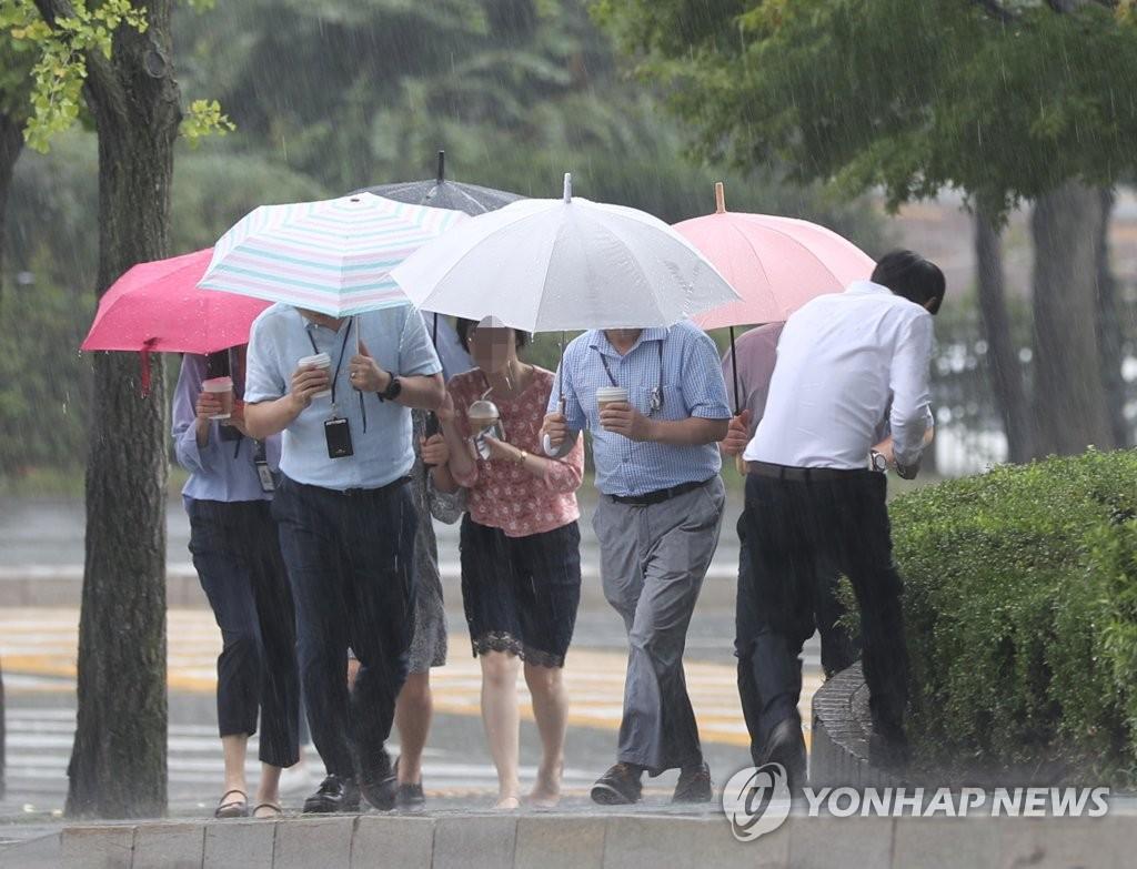 韩国首都圈发布最高级别暴雨预警