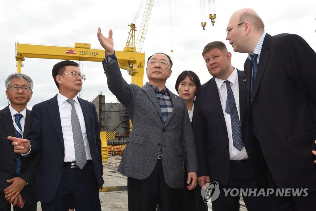 韩副总理将访俄共商经济合作方案