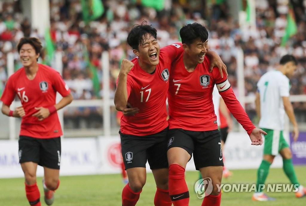 消息:韩国男足将经由北京赴朝参加世预赛