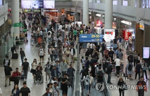 国庆黄金周访韩中国人同比增7.5%