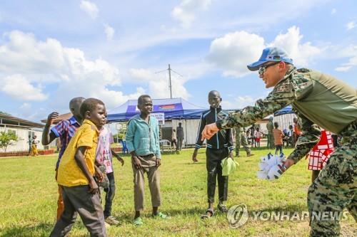 韩国拟安排包机接回驻南苏丹期满维和部队