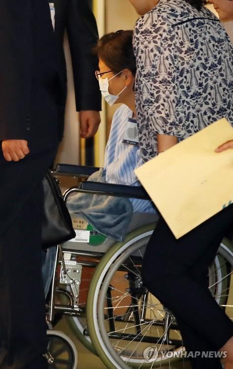 朴槿惠将住院接受手术