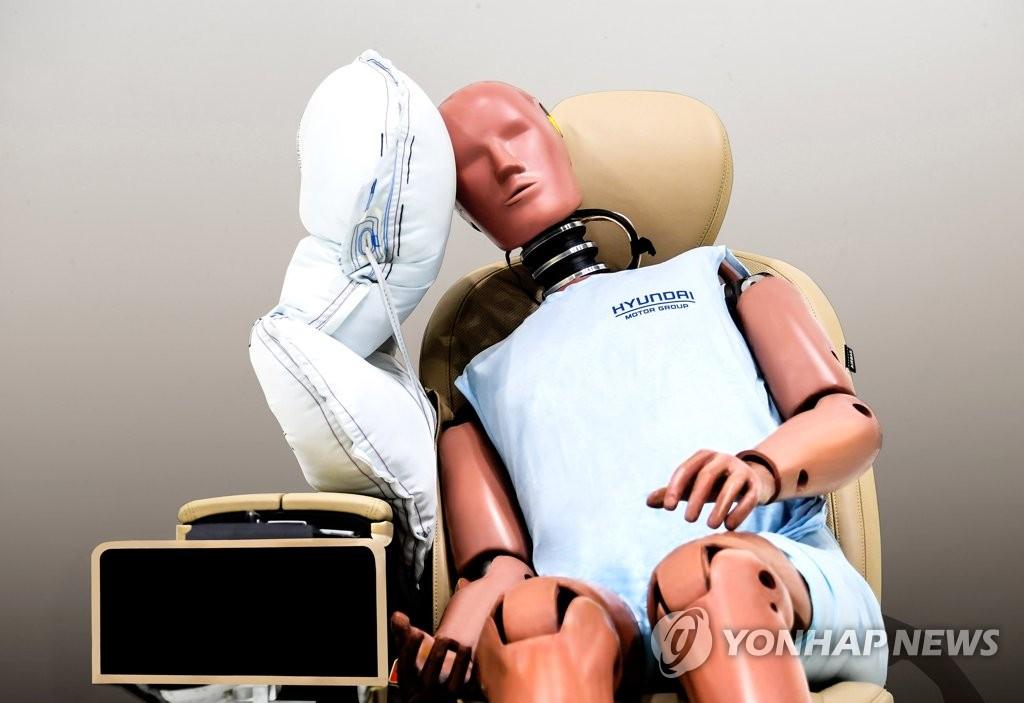 现代起亚主/副驾驶座侧安全气囊