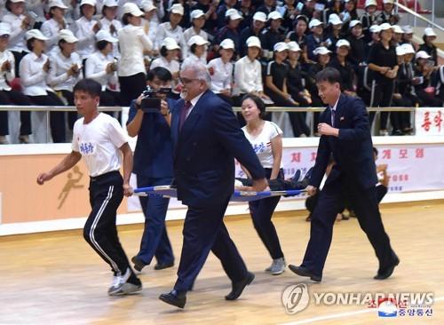 朝鲜举办世界急救日活动