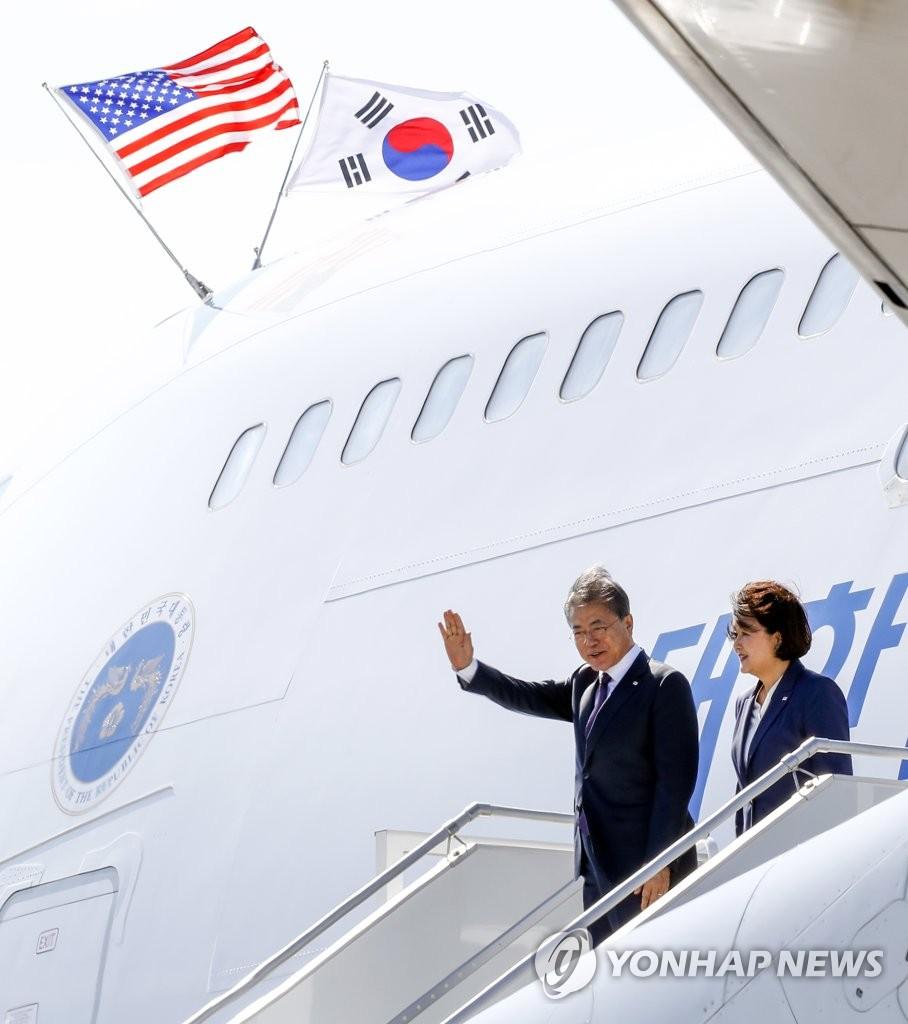 韩美首脑会谈今晨在纽约举行
