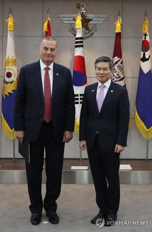 韩防长会见美国智库代表