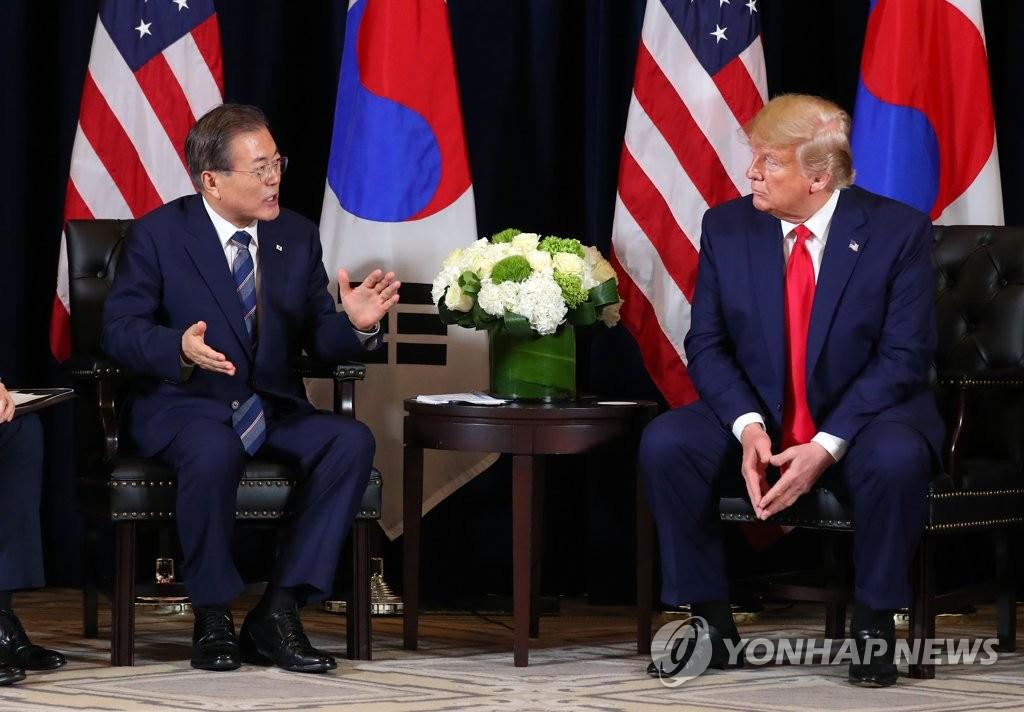 简讯:韩美总统积极评价朝鲜重启对话决心
