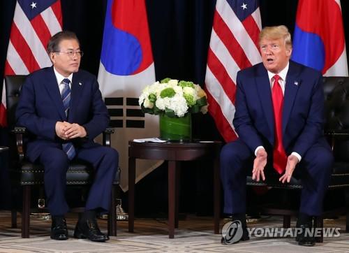 详讯:韩美领导人会晤重申不对朝鲜动武