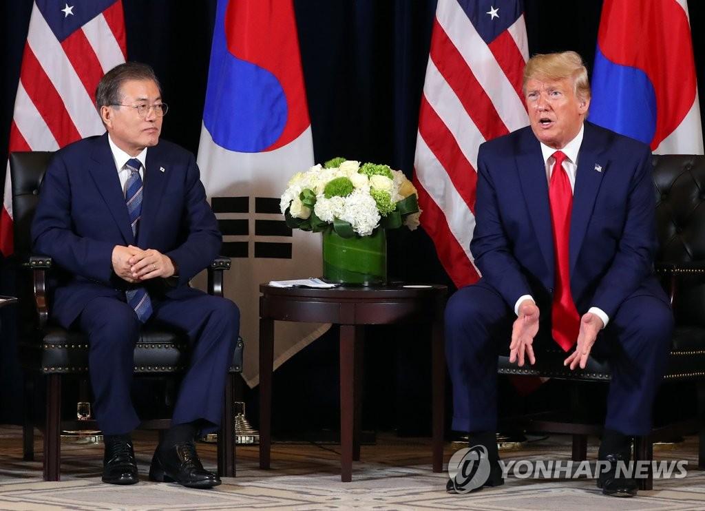 简讯:韩美总统重申不对朝鲜动武