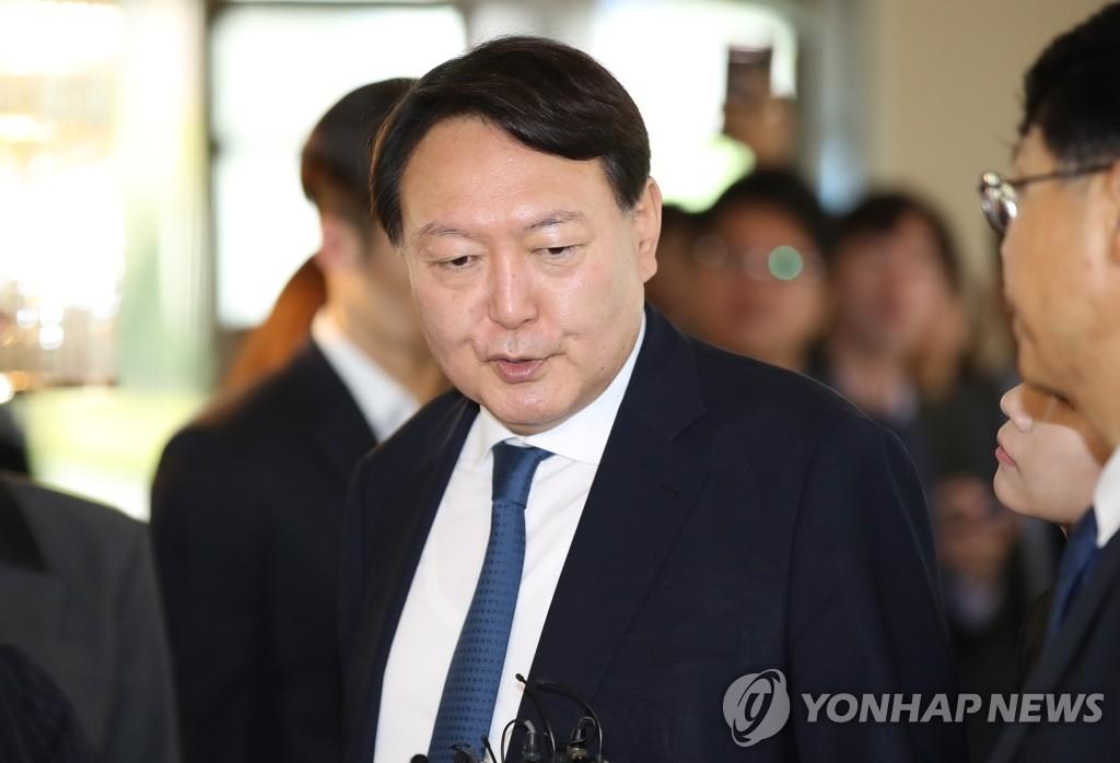 韩检察总长就检方调查法务部长官首表态