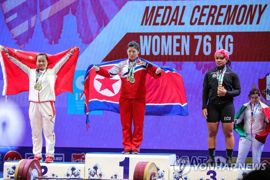 韩举重代表团将访朝参加亚洲青少年锦标赛