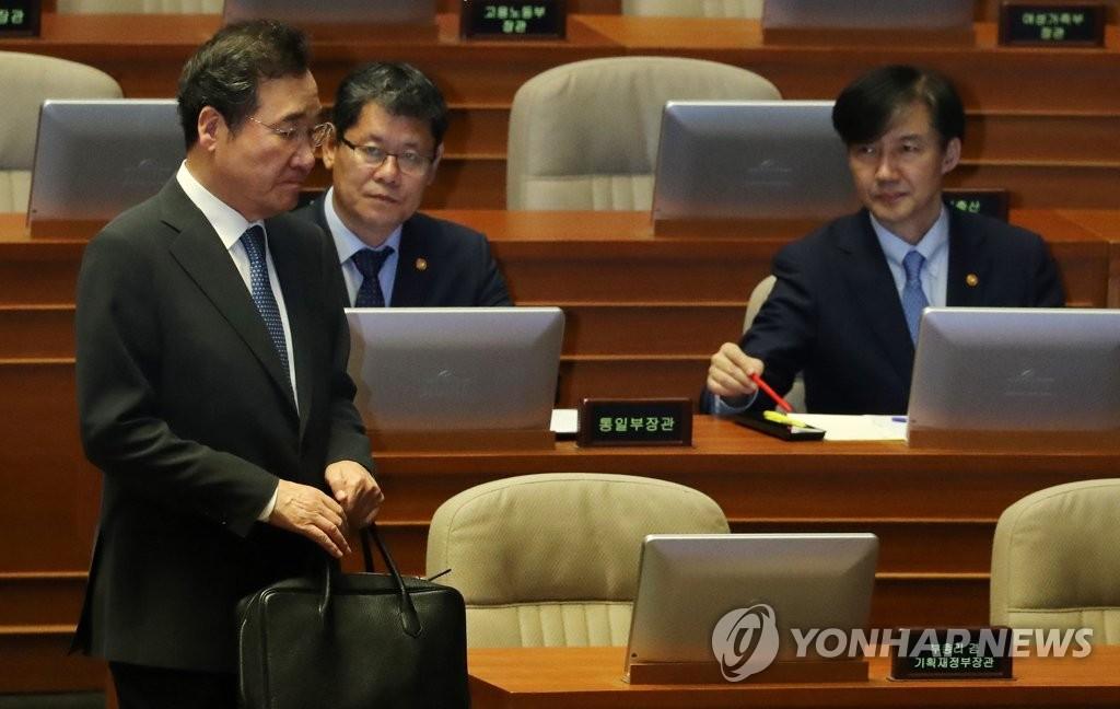韩总理:韩朝尚未讨论金正恩11月访韩事宜